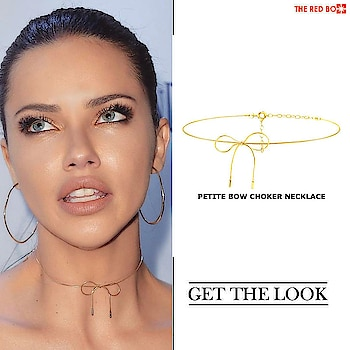 Get minimalist chic look with our Petite Bow Choker Necklace  à la Adriana Lima 🤩 🔥 https://www.theredbox.co.in/en/get-the-look-adriana-limas-necklace/ @adrianalima . . . . . #theredbox #crazysexycool #spiceitup #adrianalima #choker #styleicon #victoriasecrets #starceleb #fashionicon #popular #trendalert #vogue #cosmopolitan #ELLE #india #Instajewellery #jewellerylove #hooked #fashiondiary #mua #fashionstore #urbanchic #chic #glam #hollywood #hollywoodstar #getthelook #celebfashion #celebstyle #lessismore