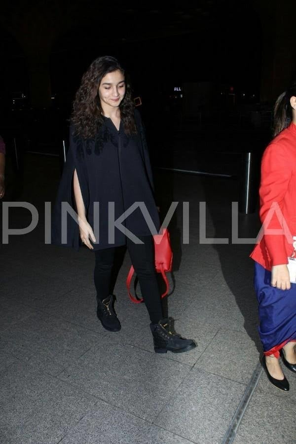 Alia, Malaika and Zareen look their stylish best at the airport.Alia Bhatt, Malaika Arora Khan and Zareen Khan looked trendy as they got clicked at the airport today.