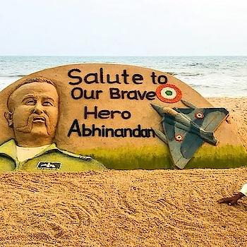 #salute-to-our-brave-hero #abhinandan
