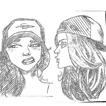 #illustrations #illustrator #black #white#ink #inktober # blacknwhite #moods