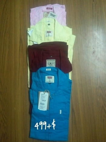 Super Colure Super Quality👌👌👌👌  TOMMY HILFIGER,Levies, Superdry,  Uspolo  Zaramen,  Armani,  Muffti,  EXCLUSIVE CASUAL SHIRTS All  Brand Available   COL = 10  SIZE = M TO XL     PRICE=499/+$ (DJ)   reseller welcome 9813620828 my whatsapp   100% COTTON TWILL FABRIC.