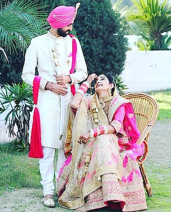 #swag_look #punjabi  #couple #indrajeet 🦁