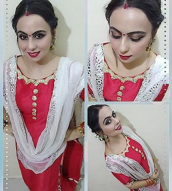 #day #navratri2018 #navratrilookbook #colouroftheday #red #reddress #bengalimakeup #redlips #redandgold #ivory #bangles #sindhoor #gajra #redlipstick #hudabeauty #heartbreaker #wingedeyeliner #makeupblogger #fashionblogger #style-file #stylediaries #ethnicindian #indianwearlove #mumbaiblogger #kolkata #durgapuja