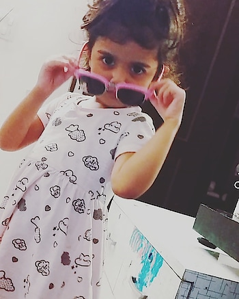 #mybaby #mydaughter #love #lovelove #cutness #cute #cuteness-overloaded #baby #roposo-kids #kids #swag #mylife #happy #joy
