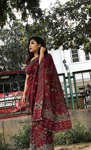 My mom's creation looks beautiful     #traditional#weaving#handloom#handmade#traditionalwear#mekhlachadar#halfdrape#loveethnic
