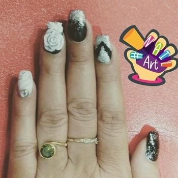#nail-addict #nail-designs #nails #nailswag #loving it❤ #nailart