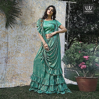 Buy Now @ http://bit.ly/VJV-NAIN2105  Lovely Sea Green Color Fancy Fabric Party Wear Saree  Fabric- Fancy Fabric  Product No 👉 VJV-NAIN2105  @ www.vjvfashions.com  #saree #sarees #indianwear #indianwedding #fashion #fashions #trends #cultures #india #instagood #weddingwear #designer #ethnics #clothes #glamorous #indian #beautifulsaree #beautiful #lehengasaree #lehenga #indiansaree #vjvfashions #pretty #celebrity #bridal #sari #style #stylish #bollywood #lehengasaree