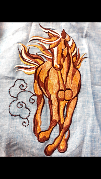 Exploring machine embroidery! Custom #embroider anything you #love at #label #bhavnachhabria  This was done for a little one who loves horses! #roposo #roposofashion #roposolove   #lovewhatido #nomondayblues #embroidery #machineembroidery #creativebiz #creativepreneur #instagood #instalove #instanew #instafashion #designstudio #madewithlove #potd #bestoftheday #everydaymadewell #tinytots #kidsfashion #bengalurudiaries #mymagicpinbangalore #fashiondiaries #fashiondesigner #fashionblogger