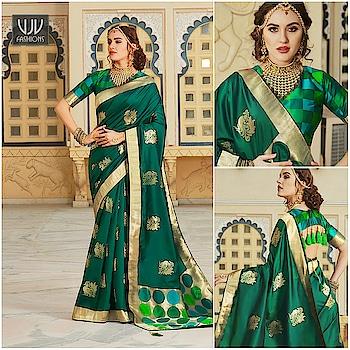 Buy Now @ https://bit.ly/32PU5UT . Ravishing Green Color Silk Designer Saree . Fabric - Silk . Product No 👉 VJV-HANS2012 . #saree #sarees #designersaree #weddingsaree #bridalsaree #silksaree #banarasisarees #netsaree #ethnicsaree #partywearsaree #embrioderysaree #weddingwearsaree #sareeforreception #printedsaree #floralprintedsaree #borderworksaree #casualsaree #halfandhalfsaree #bridalwearsaree #lehengastylesaree #traditionalsaree #cottonsaree #latestsarees