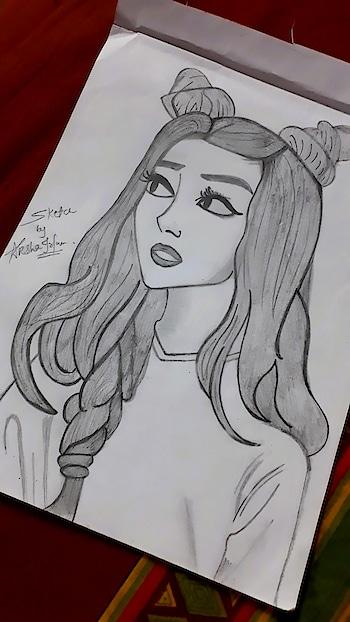 #sketchbook #sketch #sketchinglove #girl #girlsketch #sketchbyAksha...