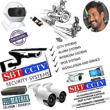 #home  #comercial special packages available 😆   Quick response team 🏍️  For enquiry 7799294777  https://fb.me/SBTCCTV