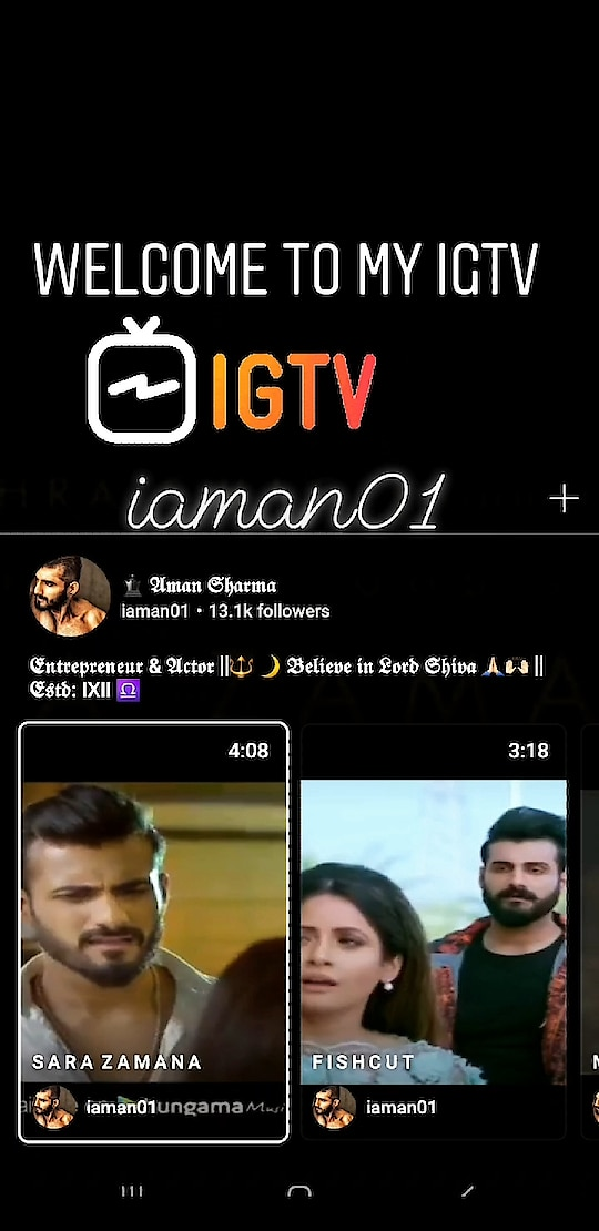 DO VISIT AMAN'S IGTV FOR LONGER VIDEOS AND MUCH MORE... INSTA :- iaman01