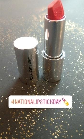 When in doubt wear red💄💄💄  #roposoblogger  #fashion  #lipstickgoals #nationallipstickday