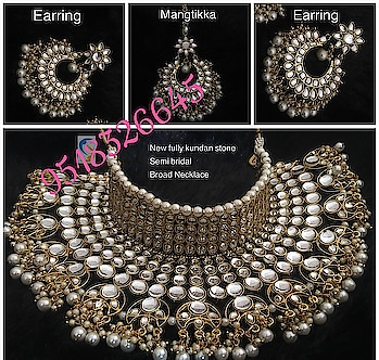 Padmavati Choker Set  Price Rs.2100 free Shipping For Buying Call on 9518326645
