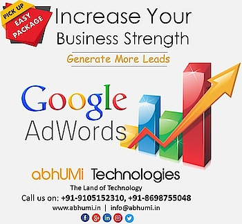 """""""Be analytical and creative, finding different ways to look at results that make the most sense for your particular account,"""" Increase Your Business Strength.  Visit us for more details Email: info@abhumi.in Contact: +91-9105152310, +91-8698755048  #google #googleadsense #googleadwords #businessideas #businessgrowth #businessquotes #strengthandconditioning #adwords #digitalmarketers #seo #socialmediatools #developer #servicestation #dehradundiaries❤️ #indialove"""
