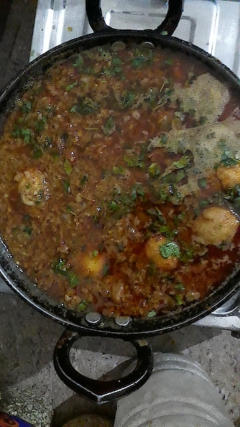 #eggcurry #eggslover #partytime #mazaa #aa #gaya #frie #history