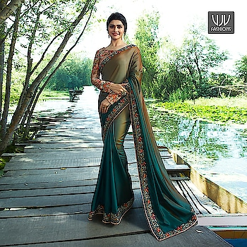 Buy Now @ https://goo.gl/o4X1TS  Prachi Desai Olive Green Color Half And Half Trendy Saree  Fabric- Fancy Fabric  Product No 👉 VJV-STR19869  @ www.vjvfashions.com  #saree #sarees #indianwear #indianwedding #fashion #fashions #trends #cultures #india #instagood #weddingwear #designer #ethnics #clothes #glamorous #indian #beautifulsaree #beautiful #lehengasaree #lehenga #indiansaree #vjvfashions #pretty #celebrity #bridal #sari #style #stylish #bollywood #vjvfashions