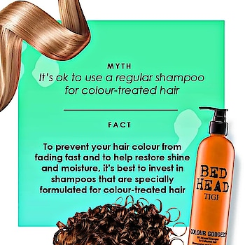 Keep your hair colour looking vibrant and beautiful by using the proper products. #haircare  #colouredhair  #haircolor  #beauty  #hair