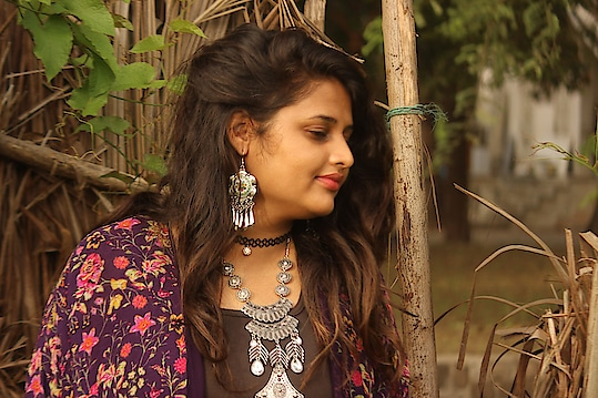 I'm back with my Boho vibes.. I just love Boho look... So here I am with lots of floral print and Boho jewellery...  #boho #bohochic #bohivibes #boholife #bohostyle #bohogirl #goboho #bydimpeebhandari #bydimpeepalrecha #beYOUnique #beyourownkindofbeautiful #beyourownqueen #beYOU #fashion #fashionblogger #proudindian #style #everyoneisbeautiful