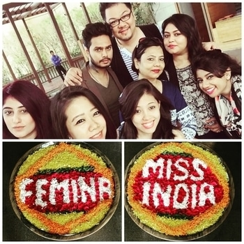 At Femina Miss India Kolkata 2017  Makeup team. Follow me on ⬇  Instagram ➡ Makeupbykabir  Snapchat ➡ Kabiesbabies  #femina #missindia #kolkata #misskolkata #2017 #letsgetready #glamour #fashion #shoot #camera #ramp #makeup #hair #makeupblogger #fashionblogger #mua #makeupartist #macmakeupartist #makeupartistworldwide #instamua #malemua #makeupaddict #makeupjunkie #l4l #followme