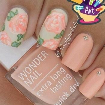 beautiful nail art 💅💅💅