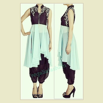Step into #summer in #cool #colours and #dreamy #styles ...#sundayvibes #feelingfresh #outfittoday #summerlove #ootd #allyouneed #readytowear #daywear #aqua #black #cowl #dhoti #drapes #sheer #highlow #georgette #ariwork #handwork #zip #details #trending #flares #instafashion #lookbook #fashionideas #patterns #designerclothes #wwd #fff #frl #lotd #whattowear #howtowear #stylegram #classywomen #fashionforward #ig #beautifulclothes #reasonableprice #followus #latest #trends #updates #dailylook #udaypark #newdelhi #highfashion #indowestern #likeback #stylegoal xx