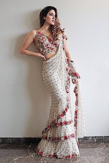 #designer-saree  in love with this 💓
