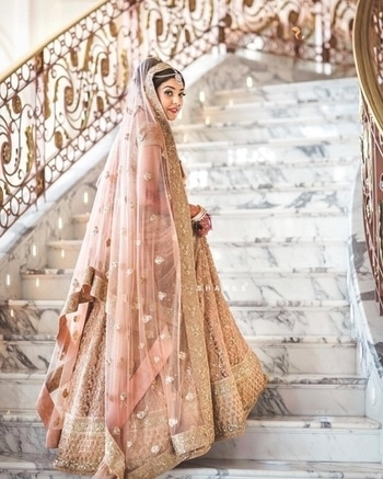 Towards the world on happiness, I go.  For such mesmerizing bridal wear, visit WedLista.com  Pic Courtesy:@shadesphotographyindia  #WedLista #FashionForWedding