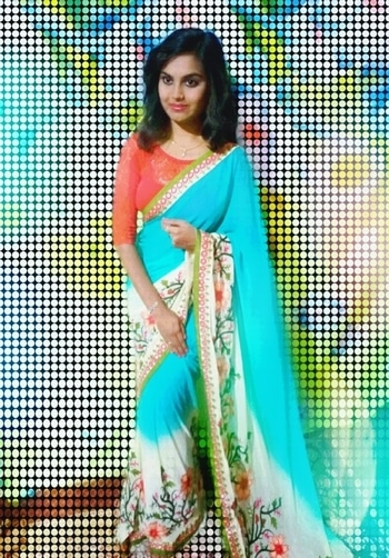 My Saree❤ #saree #sareelove #sareelook #roposogal #roposotalenthunt #lookgoodfeelgood #filmistaan #model #ethnic #ethnic-wear #lovesaree #featureme #featurethis #modelindustry #modeling  #photoshoot #roposo-style #roposo-makeupandfashiondiaries #simple saree