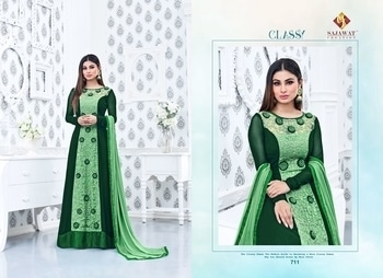 *SAJAWAT* Creation🔺SF™ New collection new designs with celebrity mony Roy (nagin)  Whtsapp at +919725895985 New  celebrations with Supar hit  🔱Roles series 🔱 Catalogue Name:- Roles vol 6⃣ (7 Pcs) Heavy embroidery work and beautiful flowers work  👗Top.       - Semi Jorjat  👖Bottom&Inner- Heavy Santoon  Dupatta -Heavy Najmine  ⏰Disptching On:= 25 January We do ship worldwide