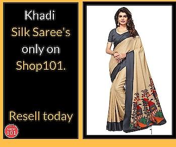Download: http://bit.ly/2D12b3g  #khadisilksarees #silksaree #saree #designer-saree #weddingsaree #silksaree #sellonline #shop101 #workfromhome #onlinebusiness #businessman #businesswoman #resellerswelcome #thebazaar