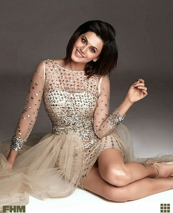 Pic from Taapsee Pannu's Photoshoot for the FHM magazine....