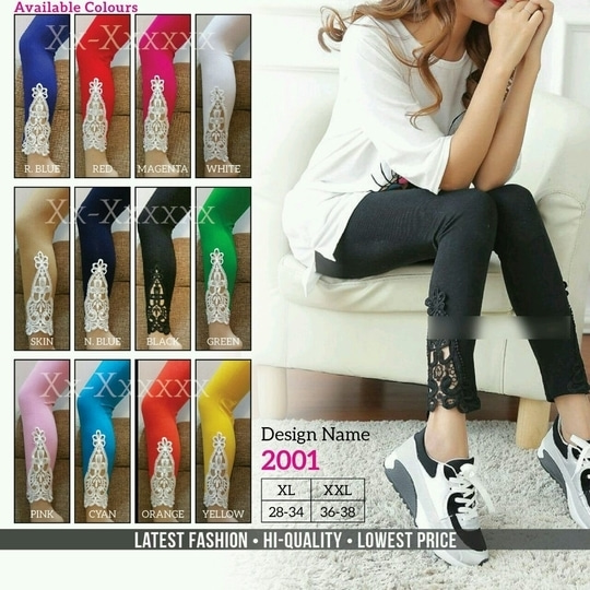 ******* Sale! Sale! Sale!  varieties of leggings ******  Get 30% off on all types of leggings  Size XL Xxl  Every leggings has different price.  Fast delivery facility.