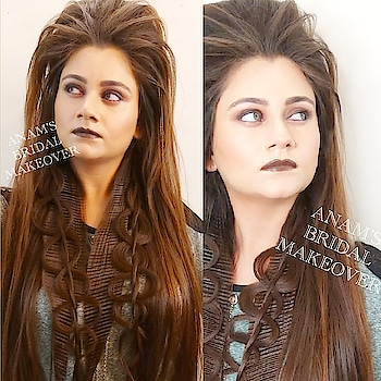 ANAM's BRIDAL MAKEOVER  #anamsiddique #hairstylist #hairstyleoftheday #hair-do #hairandmakeup #hair-style