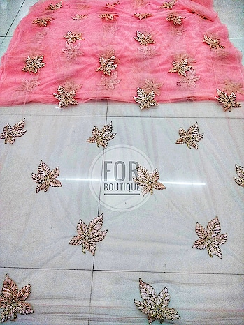 Design no. 338487335 Fabric - Net DM for inquiry or order WhatsApp no +91-8511248636. *NO MINIMUM ORDER QUANTITY* *CUSTOMIZE ORDER WILL BE TAKEN*  #Forboutique #manufacturer #fabric #motif #eveninggown #wedding-lehnga #evergreen #suitsyou #sheer #indianbride #trendy #net #fabricseller #drapping #kangas #cotonnade #couture #custommade #cutomized