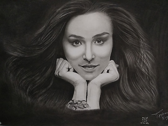 <<Shraddha Kapoor>> Completed, Pencil Sketch. The most sensational actresses in Bollywood. 😘💖 @shraddhakapoor ------------------------------------------ 🔹Don't forget to hit follow✔ and like❤⬆ 🔹Mention Your comment and tag @shraddhakapoor so that she can see it. 🙏 🔹Please Share/tag a die hard fan of Shraddha Kapoor. 🔹Thank you So much.😄 ------------------------------------------- #shraddhakapoor #shraddha #bollywood #art #bollywoodactress #artwork #artlovers #realism #hyperrealism #sketch #artist #retro #sketchoftheday #picoftheday #instabollywood #folow4folow #like #vintage