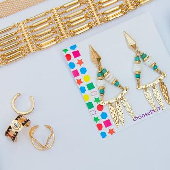 Metallics! For your bohemian vibe #showstopper #fashion #shoponline #shopping #choker #chokers #earrings #order #cod #ootd #discount #picoftheday #pictureoftheday #winter #happysankranti #hello2017 #jewelrygram #accessories #mumbaifashion #bangalore #delhifashion #chennai #mumbai #delhi #fashionjewelry #itsdarling #baubles #bohostyle #bohomian #goldchoker #ropo-love #roposolook #roposodaily #roposodiaries #ropo-style #love-ropo