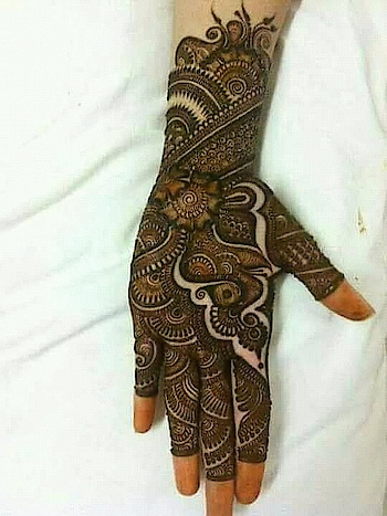 ##mehandi design# #ropo-beauty