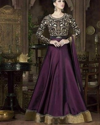 Try out something different with this purple silk anarkali suit from WedLista.com  COD Available|Free Shipping| Easy Returns  Shop now:Product Code: RF20377  Price:Rs. 3,104.00  #WedLista #FashionForWeddings