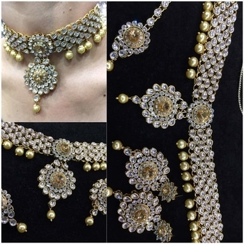 Choker sets by Lasenora..  Close eyes and buy it..  Never before deal..  @1700 #lasenora #trendingnow #trendy #fashionfabels #ethnic #women-fashion #women #jewellerylove