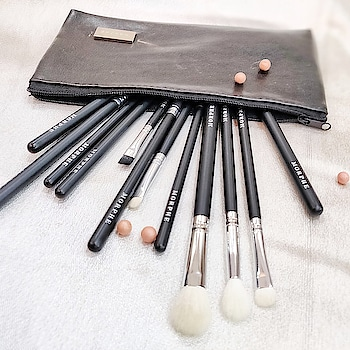 """ The right tools are just as important as the makeup itself""  @morphebrushes 12 piece 702 Brush set is just amazing (In ♥️ ) Thanks @royalicious1 . . #beauty #makeup #makeupbrushes #morphebrushes #morphe702 For more make up junk follow me on @makeoverbycg  A page dedicated to makeup and hair  #beauty  #morphe  #morphebrushes  #morphe702 #eyesshadow #makeuptools   #blogginggals  #BloggersBlast  #bloggers #makeupblogger  #fashionista  #2018  #photography    #fashionblogger   #fashion2018  #indianmakeupartist  #india #indianblogger   #blackandwhite #makeupblog"