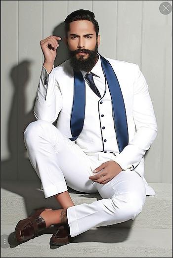 Presenting the stunning white tuxedo suit by Samyakk with @prateekjain_lovemachine  Any query kindly watsapp us at 7829928490. For more collection visit our website www.samyakk.com   #samyakk #samyakkdesign #samyakkclothing #tuxedo #tuxedocat #suit #suit #fashion #fashiondesigner #fashionblogger #model #modeling #models #prateekjain #fashionshow #showstopper #look #latest #latestdesign #design #mensfashion #menswear #menswearblogger #engagementring #weddinginspiration #party #worldwide #bespoke #ootd #ootdfashion