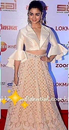 💜STYLE ON MY MIND 💜 weaving youthful vibes and innocence #aliabhatt in a #abujanisandeepkhosla fusion chikankari skirt paired with a ivory silk ruffle blouse .Perfect dewy beauty look and big earrings elevating the whole look. 😍😍😍 #fashiondiva2017 #fashionstatement #designerfashion #bollywoodfashion #formalwear #silkblouse#bollywoodactress #roposofashion #roposofashion #fashionbloggerdelhi #roposo-makeupandfashiondiaries #roposofashionbloggernetwork #delhifashionbloggernetwork