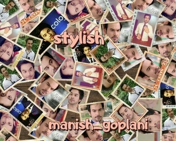 @manishgoplani9 just tympass #manishgoplani #cutiepie #rockstar #stylishhair #deepeyes #dimplesmile #fashion icon