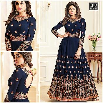 Buy Now @ https://goo.gl/FM5hsA  Shamita Shetty Navy Blue Georgette Designer Anarkali Suit  Fabric- Georgette  Product No 👉 VJV-ASHI10002  @ www.vjvfashions.com  #dress #dresses #bollywoodfashion #celebrity #fashions #fashion #indianwedding #wedding #salwarsuit #salwarkameez #indian #ethnics #clothes #clothing #india #bride #beautiful #shopping #onlineshop #trends #cultures #bollywood #anarkali #anarkalisuit #beauty #shopaholic #instagood #pretty #vjvfashions