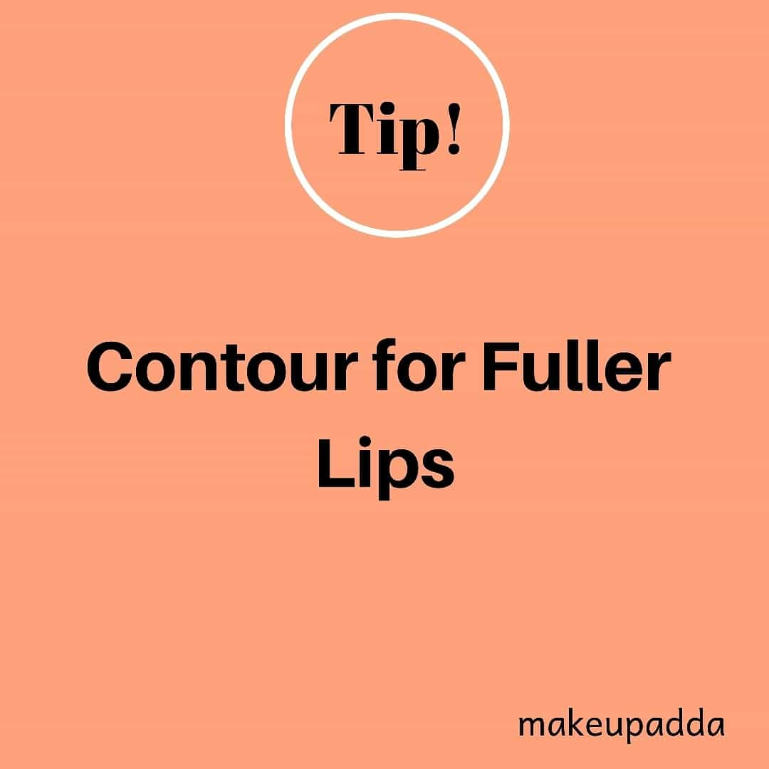 Tip of the Day  .  Contouring for Fuller Lips  .  Use a darker lip liner to outline your lips. Then fill in the center of your lips with a much lighter lip liner. . Then put on your lipstick. It will create a multi-dimensional lip look that makes your lips appear fuller.  . . . . . . . .  #tipoftheday  #diyoftheday #diy  #indianbeautyblogger #indianbeautyblog #beautyblogger #beautyinfluencers #fullerlips #lips #biglips #bangalorebeautyinfluencers #influencer #lipstickhack #bangalorebeautyblog #bangalorebeautyblogger #mumbaibeautyblog #mumbaibeautyblogger  #bangaloreinstagrammers #mumbaiinstagrammers #bangaloreinstagram #mumbaiinstagram #beautyhacks  #beautyhackoftheday #hacks #simplehacks #hackoftheday