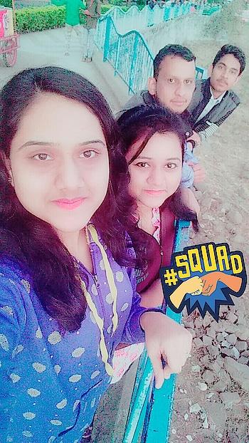 Friends for life❤🌸!! @tanuyadav12 ❤ @abhinavbahroliya 😇!! #squad