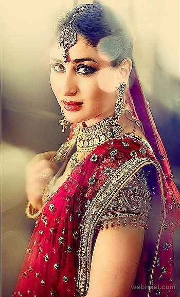 #wedding-bride #wedding-dress #weddingjewellery #reddress #indianbridalmakeup