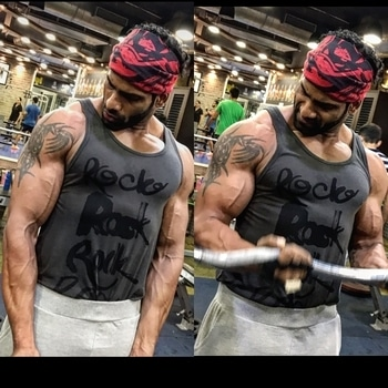 Feeling all pumped up after Ramzan...its time to get that Beast Mode into full throttle and head towards my goals... ready as ever! 😬💪💪. EID MUBARAK TO ALL MY FRIENDS AND FOLLOWERS. 🙌🙌 #fitness #love #workout #fitnessmodel @aftabshaikh85 #mostmuscular #shredded #pumpedup #biceps #bodybuilding #gym #fitfam #picoftheday #tagsforlikes #aesthetic #instafitness #hunk