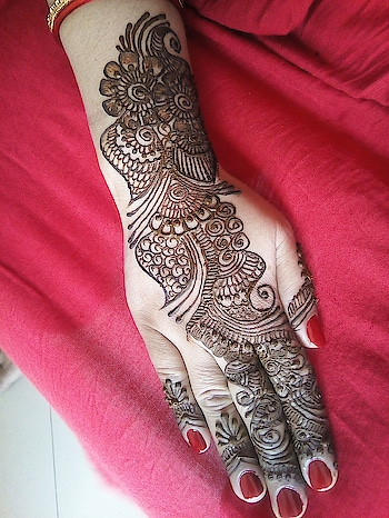 #mahendiart #art #indian-mehndi #arabicstyle #again-my-creation